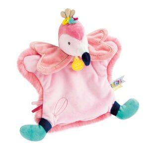 marionetta-fenicottero-rosa-doudou