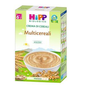 crema di cereali multicereali