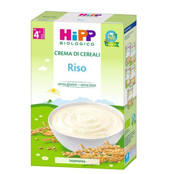 crema di cereali riso