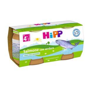 omogeneizzato salmone con verdure hipp