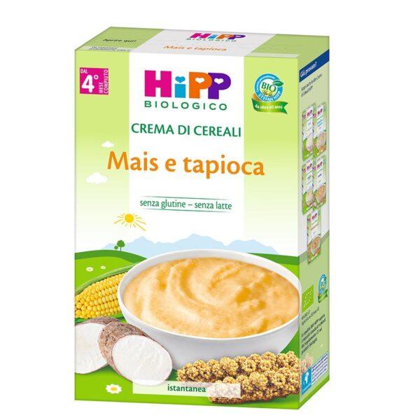 crema di cereali mais e tapioca