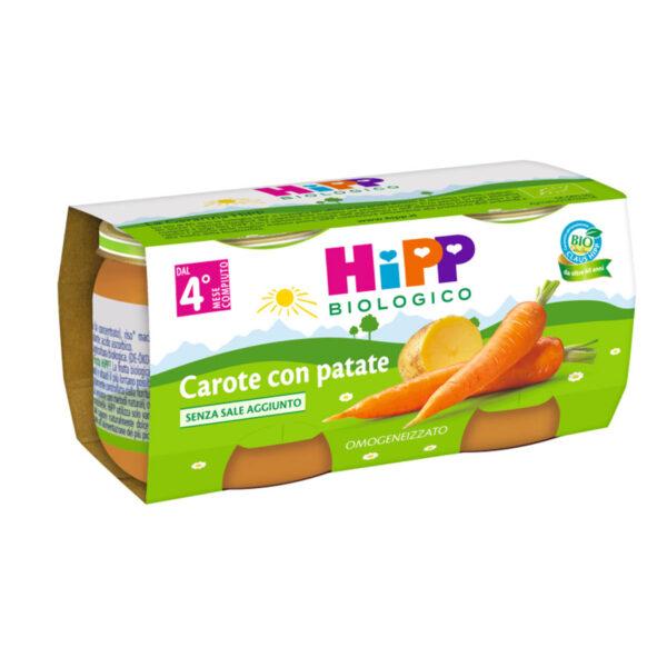 omogeneizzato carote con patate
