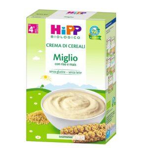 crema di cereali miglio