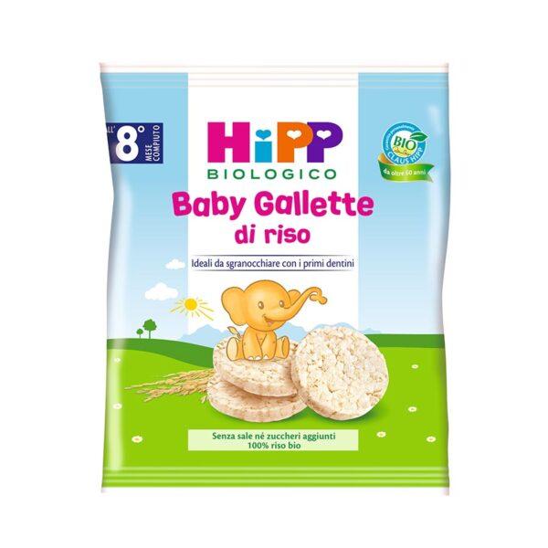 snack baby gallette di riso