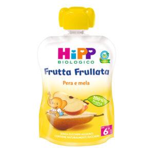 frutta frullata pera e mela