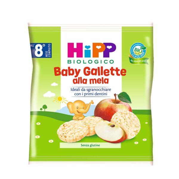 snack baby gallette alla mela
