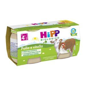 omogeneizzato pollo e vitello hipp