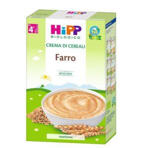 crema di cereali farro