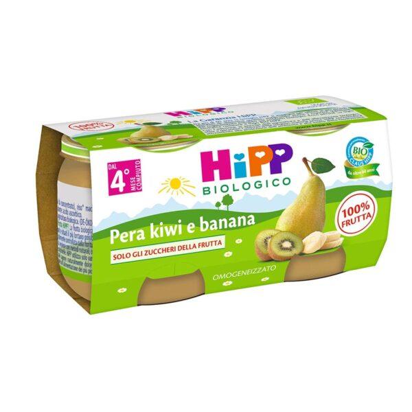omogeneizzato pera banana e kiwi