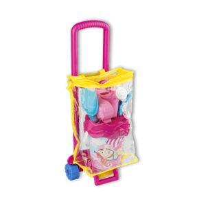 carrello-sacca-set-spiaggia-rosa-androni-giocattoli
