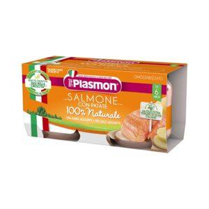 omogeneizzato salmone con patate