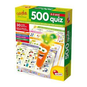 500 quiz carotina preschool