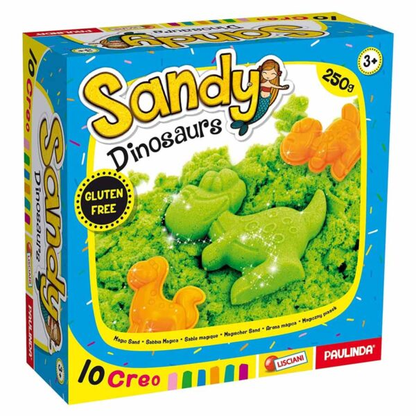 sabbia cinetica dinosauri
