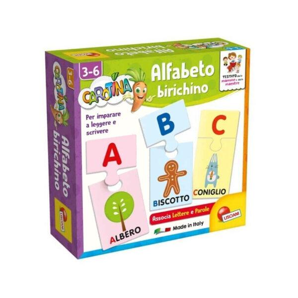 alfabeto birichino