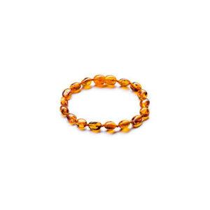 braccialetto baby ambra