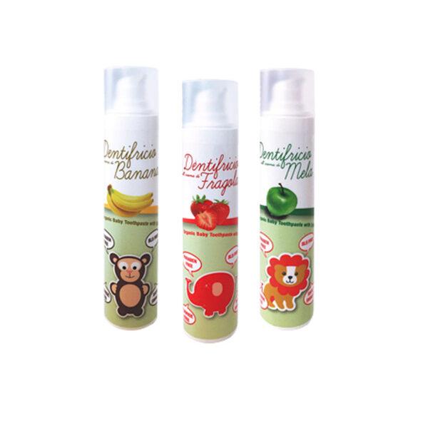 dentifricio bio naturale alla frutta