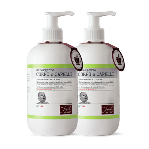 detergente corpo capelli