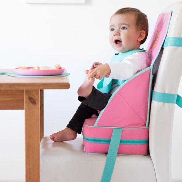 Rialzo Pieghevole da sedia Booo! rosa