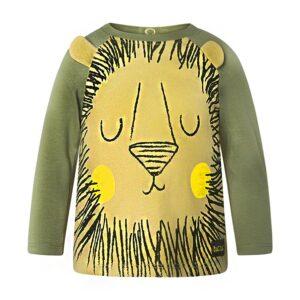 maglietta leone wildness