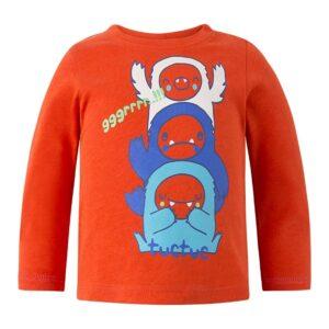 maglietta rossa yeti and co