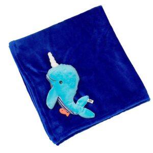 coperta da passeggino balena