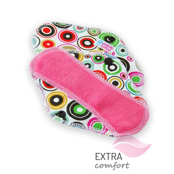 assorbente proteggi slip in cotone cloth pad slip circles