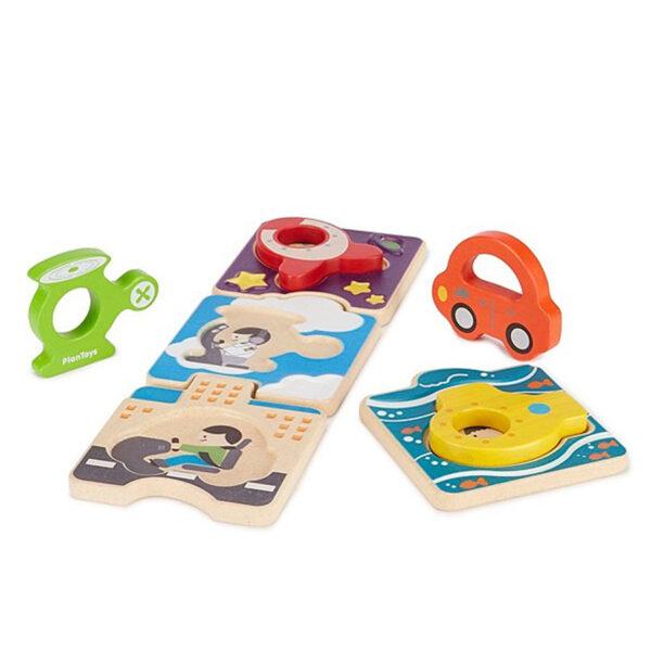 puzzle veicoli