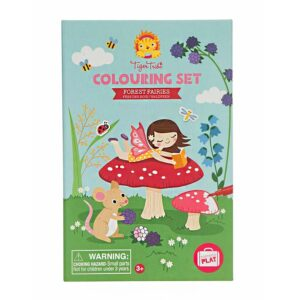 colouring set forest fairies