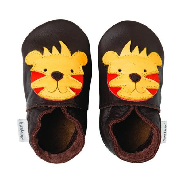 chocolate tiger bobux soft sole