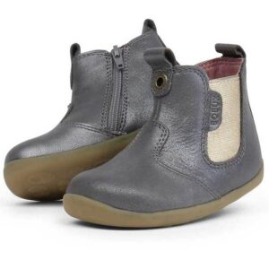 step up jodphur boot grigio oro