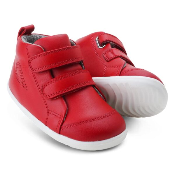 step up hi court rosso