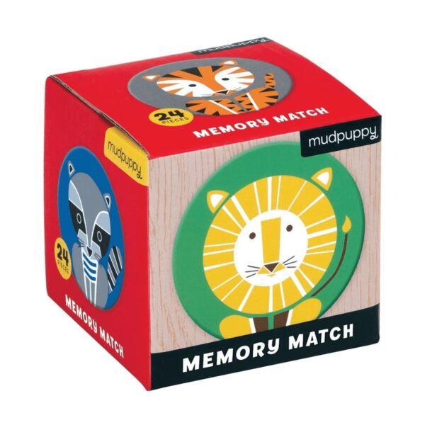 memory pocket animali geometrici