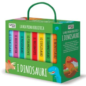 la mia prima biblioteca i dinosauri