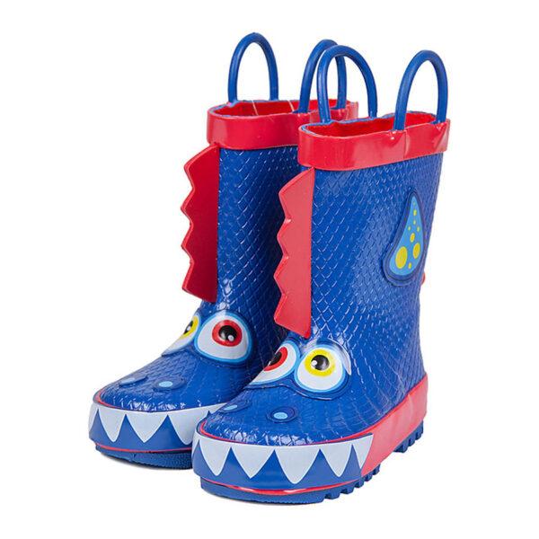 stivaletti da pioggia dragon blu