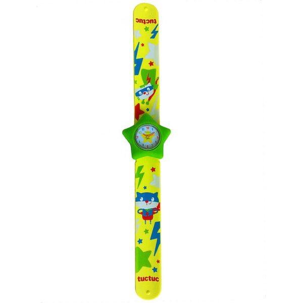 orologio braccialetto a scatto tuc tuc
