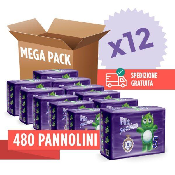Pannolini Pillo Premium in offerta - 480 Pannolini