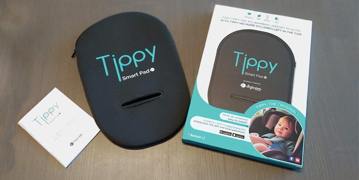 tippy dispositivo anti abbandono