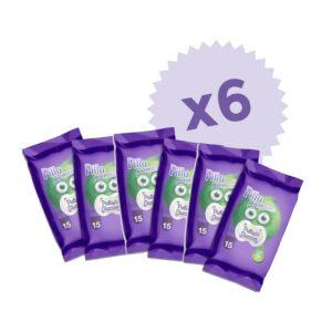 pillo pulisci ciuccio 6 confezioni