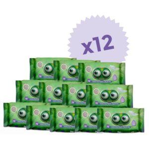 salviettine pillo baby confezione 12 pezzi