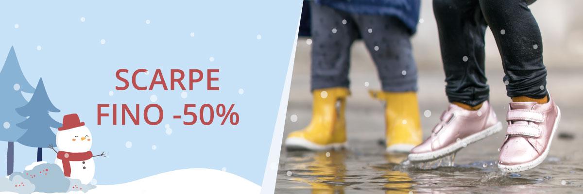 saldi invernali scarpe fino al 50%