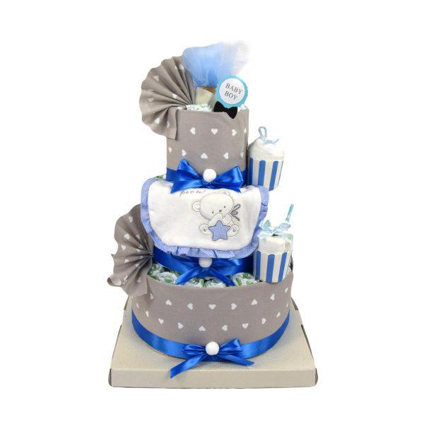 torta di pannolini bavaglino